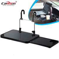 Foldable Car Laptop Stand Foldable Car Seat/Steering Wheel Laptop/Notebook Tray Table Food/drink Holder Stand Free Shipping