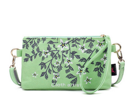 2017 New Printed Handbags!Hot Casual shopping Multi-use Small Flap bag Top canvas fresh carved shoulder cross Shopping Carrier