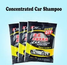 10 sztuk skoncentrowany szampon samochodowy deck pianka myjka ciśnieniowa dostawcy dla pianka śnieżna pistolet czyszczenie samochodu akcesoria 5g