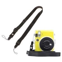 цена на Universal Neck Shoulder Strap Belt Band for Polaroid Fujifilm Fuji Instax Mini 90 70 50 25 7S 9 8 8 Instant Print Camera 10166