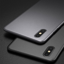 Luxury Original Ultra Slim Back Matte Soft Silicone Case For iphone 6 s 6s 7 8 Xr Xs Max Shockproof Cover