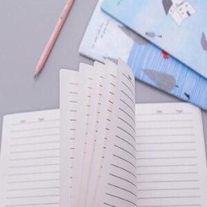 Image 4 - 10 paczek/partia Korea południowa piśmienne małe świeże miękka twarz kopia słodkie 32k linii samochodu A5 Notebook pięć wyboru