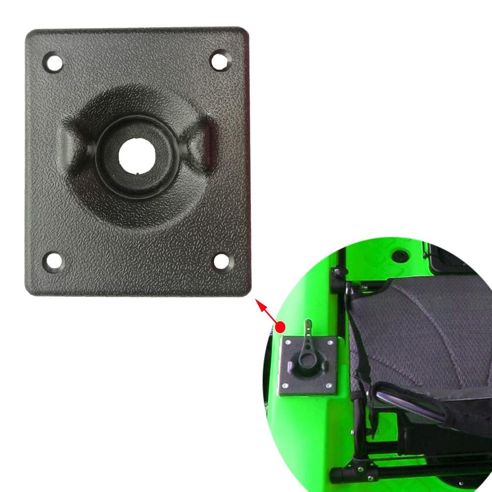 2Pcs Plastic Red Balls for Marine Kayak Fishing Boat Rudder Control System