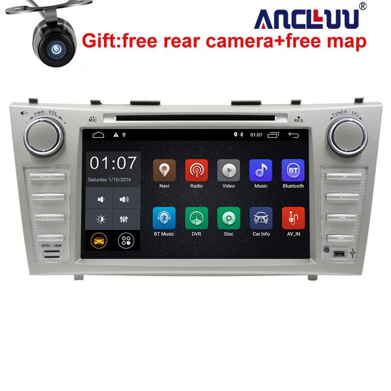 2G RAM 2 Din Quad Core 8 Android 8.1 Voiture DVD GPS Navigation Pour Toyota Camry 2007 2008 2009 2010 Unité de Tête De Voiture Stéréo radio