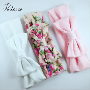 2018 Brand New 3PCS Stretchy Twist Knot Bow Head Wrap Headband Twisted Knotted Cute Hair Band Baby Gifts(China)