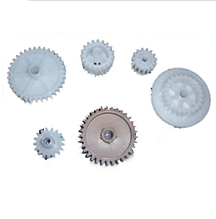 einkshop 2Set Driver gear kit for <font><b>HP</b></font> P4015 p4515 4015 <font><b>4014</b></font> RC2-2399-000 RU6-0164-000 printer Fuser gear image