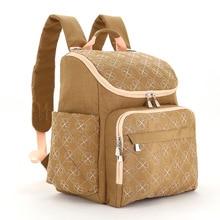 New Mommy Bag Multifunctional Baby Diaper Backpack Large Capacity Shoulder Mom Bag Maternity Nappy Backpack Hospital Care Bag