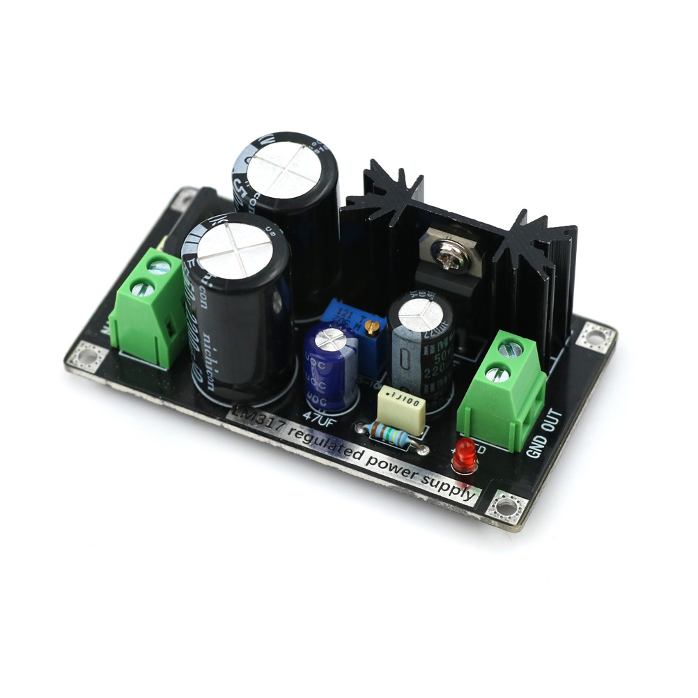 LM317 Adjustable Regulated Rectifier Filter Power Supply Board Module UK