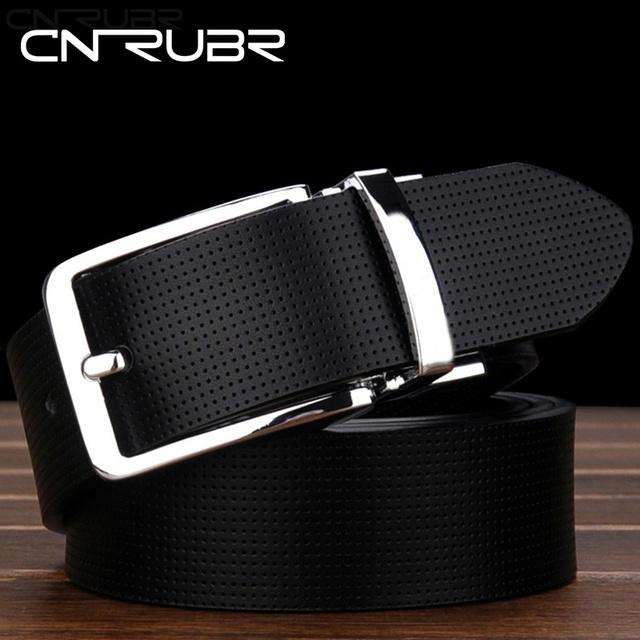 CNRUBR Cinturón de Hebilla de Correa de la Marca de Los Hombres de Doble Cara Diseñador Del Mens Cinturones de Lujo Cinturones de Cuero Genuino Marcas Cinturón Para Los Hombres Cinto Feminino