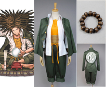 Dangan-Ronpa Danganronpa Yasuhiro Hagakure Uniform Male Top Shirt Anime Halloween Game Cosplay Costumes For Men Custom Made