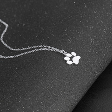 Cat Paw Print Necklace For Women