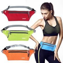 Professional Running Waist Bag Waterproof Sports Chest Shoulder Bags Belt Men Women Mobile Phone Pack
