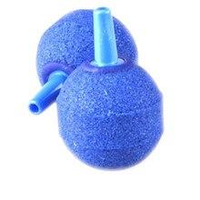 2 xAir пузырьковый Камень аэратор для аквариума насос для аквариума гидропонный кислород