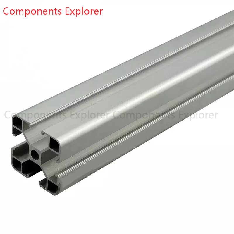 Arbitrary Cutting 1000mm 4040LL Aluminum Extrusion Profile,Silvery Color.