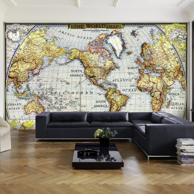 Online shop 3d stereo wallpaper world maps custom any size mural 3d stereo wallpaper world maps custom any size mural world map living room office study decoration wall papers gumiabroncs Gallery