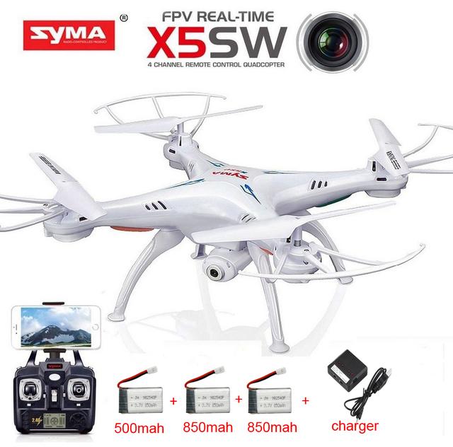 VS X5C SYMA X5 X5SC X5SW con WiFi FPV Cámara sin cabeza En Tiempo Real RC Helicóptero Quad copter RC Drone Quadcopter juguetes