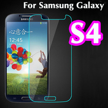 RandGrey Temepered galss for Samsung Galaxy S4 Premium protective film 2.5D 0.3mm 9H Hardness Tempered Glass screen protector