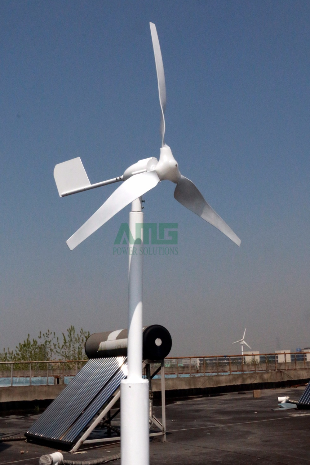 ! Advanced 600W 24V 3 Blades Horizontal Small Wind Turbine Generator For  Garden/rooftop/boat With Boost Hybrid Controller In Alternative Energy  Generators ...