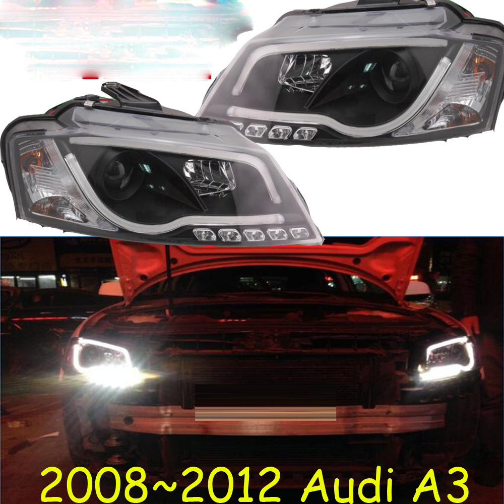 HID,2008~2012,Car Styling for Audl A3 Headlight,canbus ballast,A3 Fog lamp,A4,A5,A8,Q7,S3 S4 S5 S6 S7 S8,A3 head lamp
