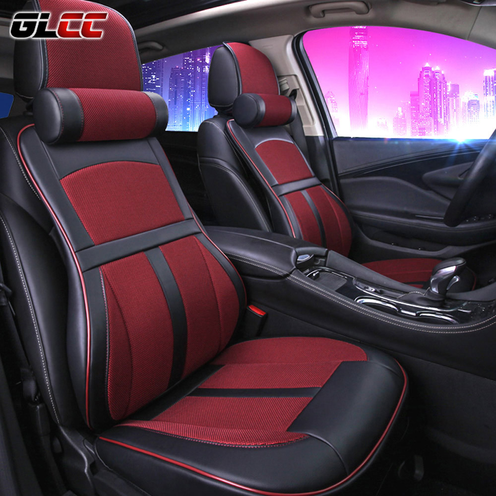 premium car seat cover comfortable with memory foam and 3d leather universal seat cover for most. Black Bedroom Furniture Sets. Home Design Ideas