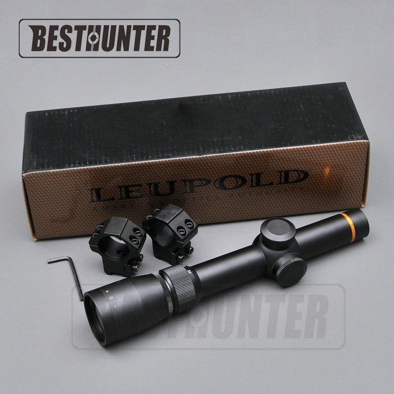 Leupold 1 5 5X20 Mil dot Illuminated Optics Riflescopes Tactical font b Hunting b font Scope