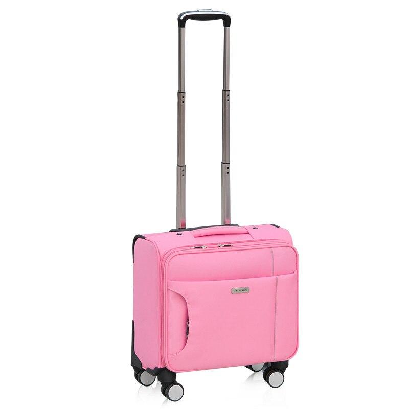 Petit chariot universel Commercial de roues luggage14 16 18 20 mâle oxford sac de bagage de voyage de tissu femelle, sacs imperméables de bagage
