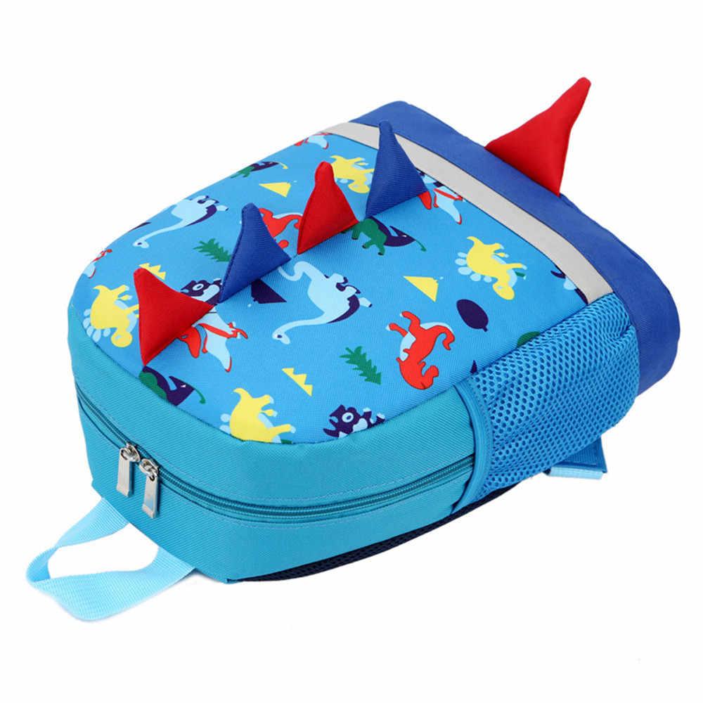Сумка аксессуар для маленьких мальчиков и девочек, рюкзак в форме животных с рисунком динозавра, школьная сумка для малышей, Прямая поставка <= 487g37