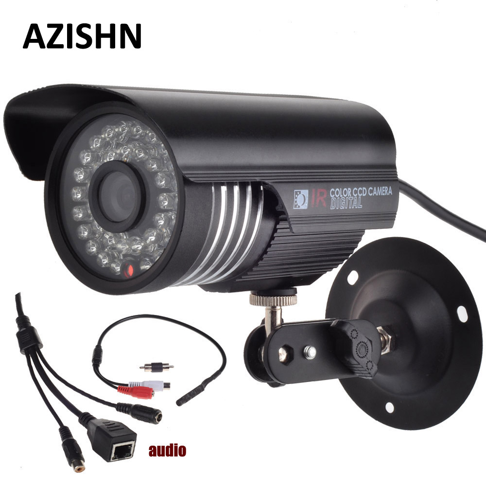 Onvif HD 1080P DSP(HI3516C)+1/2.7 SC2135 CMOS IP Camera Audio 2MP With External Microphone Pickup Outdoor metal Bullet CCTV wholesale 8pcs lot full hd 1080p ip camera audio 2mp camera ip with external microphone pickup indoor ir dome cctv cam