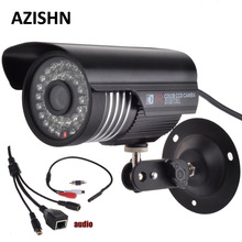 HOBOVISIN HD 1080P DSP(HI3516C)+1/2.7″ SC2135 CMOS IP Camera Audio 2MP With External Microphone Pickup Outdoor metal Bullet CCTV
