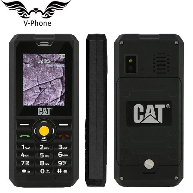 """Mới Ban Đầu IP67 Di Động Chống Nước điện thoại Mèo B30 64 MB RAM 128 MB ROM 2.0 """"Spreadtrum 7701 Chống Bụi Dual SIM 1000 mAh Điện Thoại"""