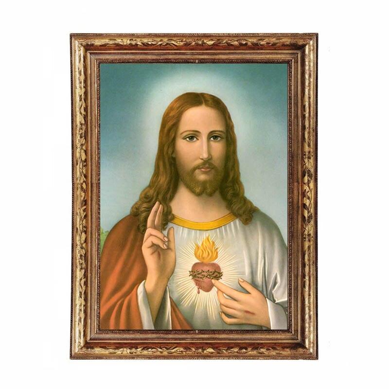 ZeroC Jesus Poster Kunstdrucke, bibel Wand Bild für Wohnzimmer ...