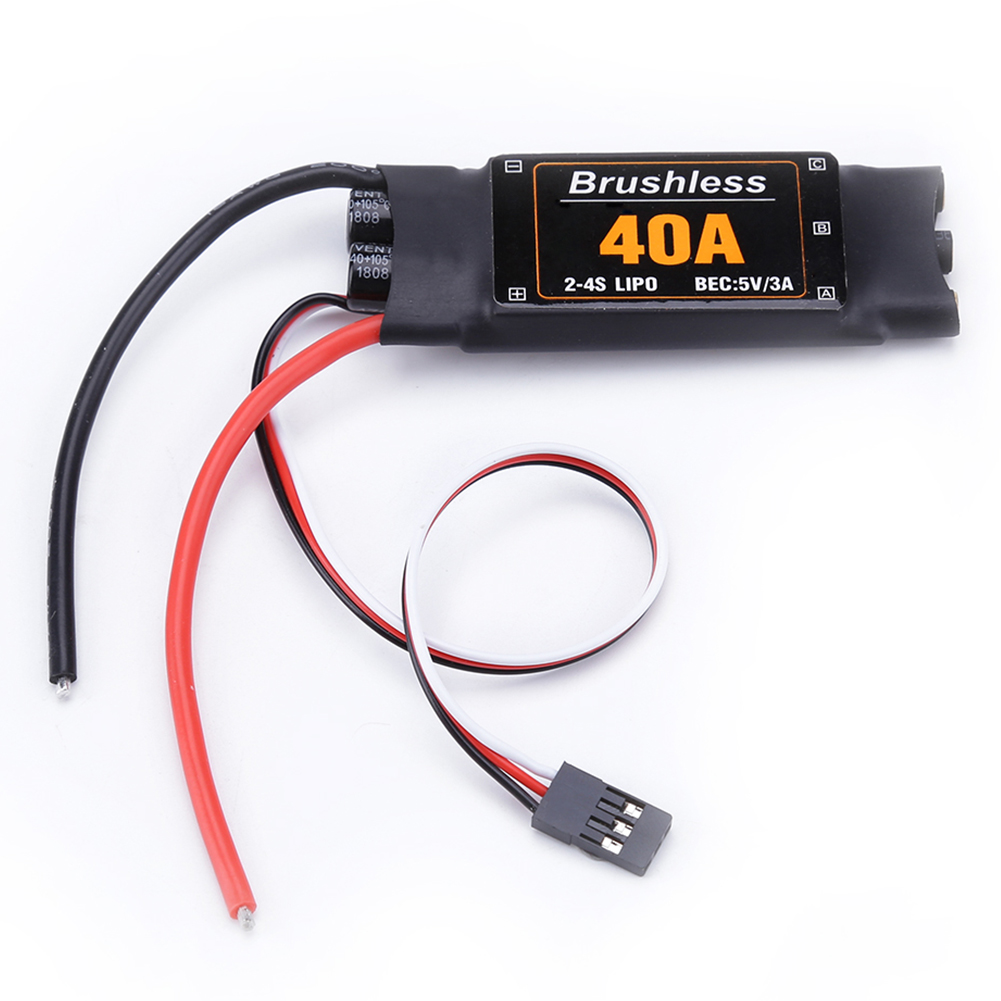 40A Drone Helicopter FPV Parts Multicopters Speed Controller Brushless ESC Durable Components RC Toys Accessories Quadcopter