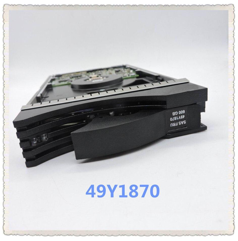 49Y1866 49Y1870 49Y1869 600g 3.5 polegada 15 K SAS Garantir Novo na caixa original. Prometeu enviar em 24 horas