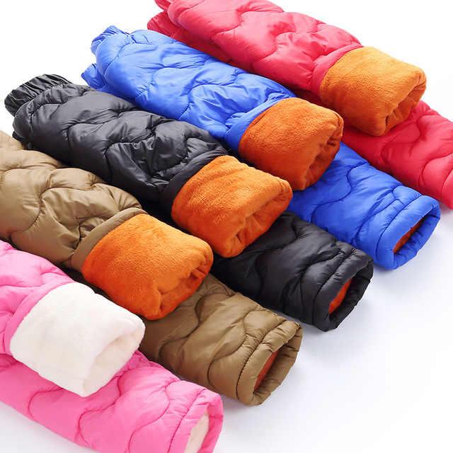 ベビーガールズボーイズ暖かいダウンパンツ冬 2019 子供高品質ダウンパンツ幼児ダウンズボン子供レギンス男の子服