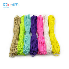 IQiuhike Paracord 2mm 50FT 100FT (31Meters) One Stand Cores Paracord Rope Cuerda Escalada Paracorde Bracelets Paracord