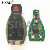 SIKALI Car Smart Card Remote Key Suit For Mercedes Benz Ok For NEC And BGA Types