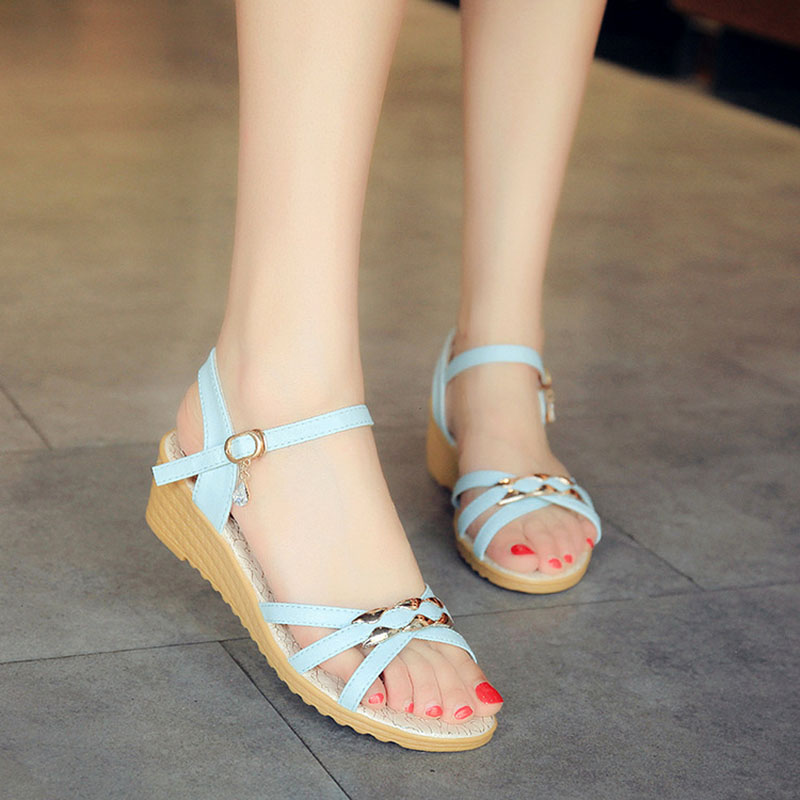 Women Sandals Wedge Female Shoes Open Toe Wedge Sandals Women Shoes