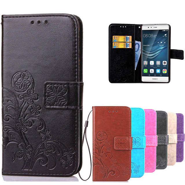 best sneakers d60df 70731 US $3.52 |Luxury PU Leather Case for Huawei P8 Lite 2017 Soft Silicone  Wallet Flip Case Cover for Huawei P9 Lite P9 Plus Coque Phone Case-in  Wallet ...
