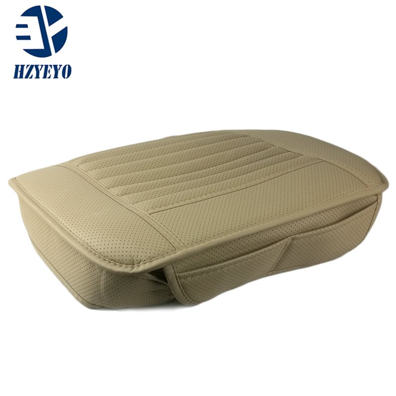 Hzyeyo Non-slip Car Seats Protect Mat Cover Breathable Cushion Summer Cool Car Seat Cushion Truck Auto Chair Cover Faux Leath Unequal In Performance Interior Accessories Automobiles Seat Covers