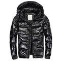 Frete grátis 2016 Dos Homens venda Quente para baixo casaco de inverno quente para baixo Homens jaqueta de alta qualidade Branco para baixo & parkas jaqueta casaco Homem 480hfx