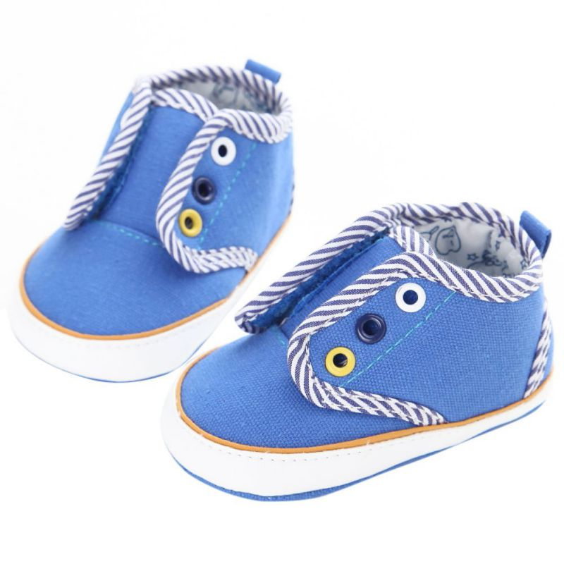 4ebf6a41842 Обувь для малышей новорожденных малышей Prewalker мягкая подошва обувь  высокого верха Кружево до элегантных для маленьких мальчиков Обувь