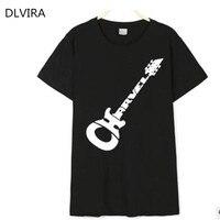 2017 DLVIRA S 3XL New European And American Couple Models Cotton CHARVEL Guitar Letter Printing Short
