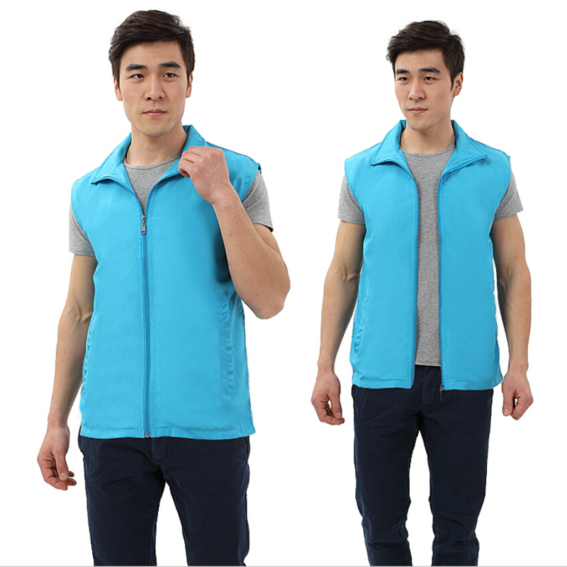 High Quality Waterproof Warmth Fittness Waistcoat Women Men Couples Sleeveless Outdoor Sport Camping Hiking Vest