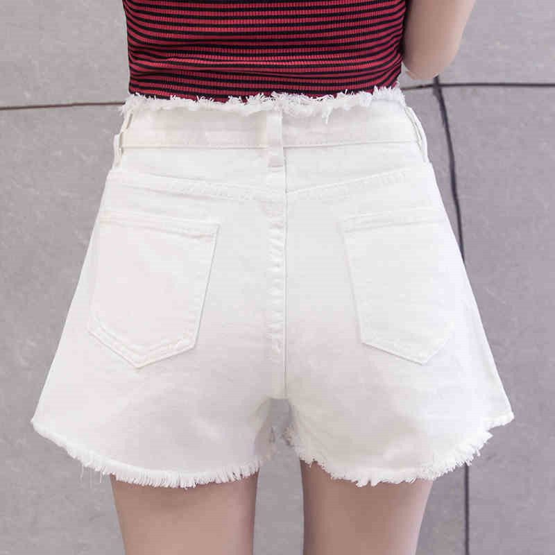 Denim   Shorts   New Arrival 2017 Women's Fashion Brand Vintage Tassel Ripped Loose High Waist   Shorts   Sexy   Short   Jeans Plus Size 5XL
