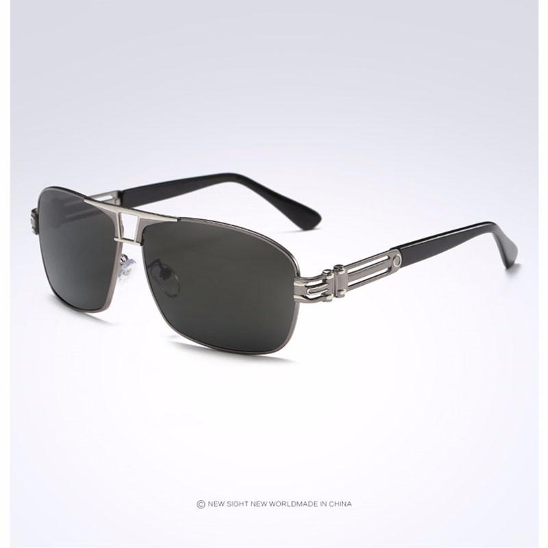 Roupai Polarized Super Cool Military Glasses For Police Driving Mens Square Anti Glare Sunglasses UV400 377 (10)