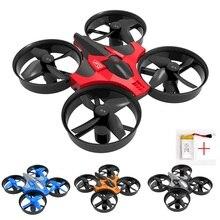 Мини Drone headless режим вертолет 4CH Радиоуправляемый квадрокоптер Пульт дистанционного Управления игрушки для детей Дрон Вертолет VS JJ RC H36 RC Drone