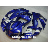 Injection molding full fairing kit fit for YAMAHA R1 1998 1999 YZF R1 blue white ABS fairings set YZF R1 98 99 YD52