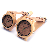 BOBO BIRD M12 Bamboo Wood Quartz Watch For Men And Women Wristwatches Top Brand Luxury With