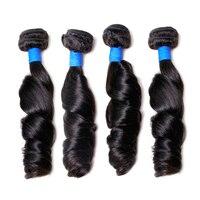 BY Peruvian Loose Wave Hair Bundles 100 Human Hair Extensions Natural Hair Weave Bundles 10 26inch