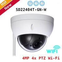 DH Скорость купол Камера SD22404T GN W 4MP 4x PTZ Wi Fi Камера день/ночь H.265 2,7 мм ~ 11 мм Объектив Wifi Камера IP66
